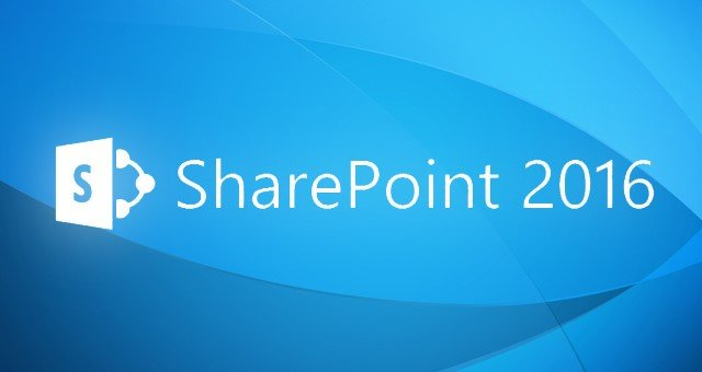 Microsoft SharePoint 2016 Now Available