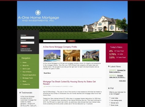 A-One Home Mortgages and Investments
