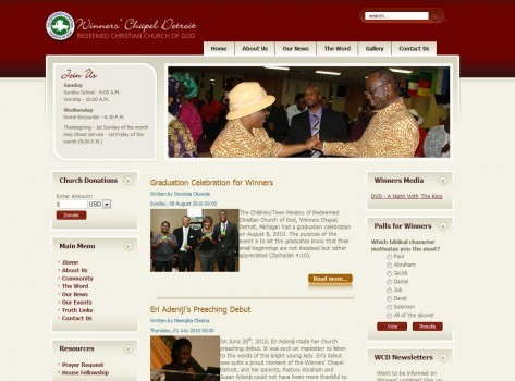 RCCG Winners' Chapel Detroit