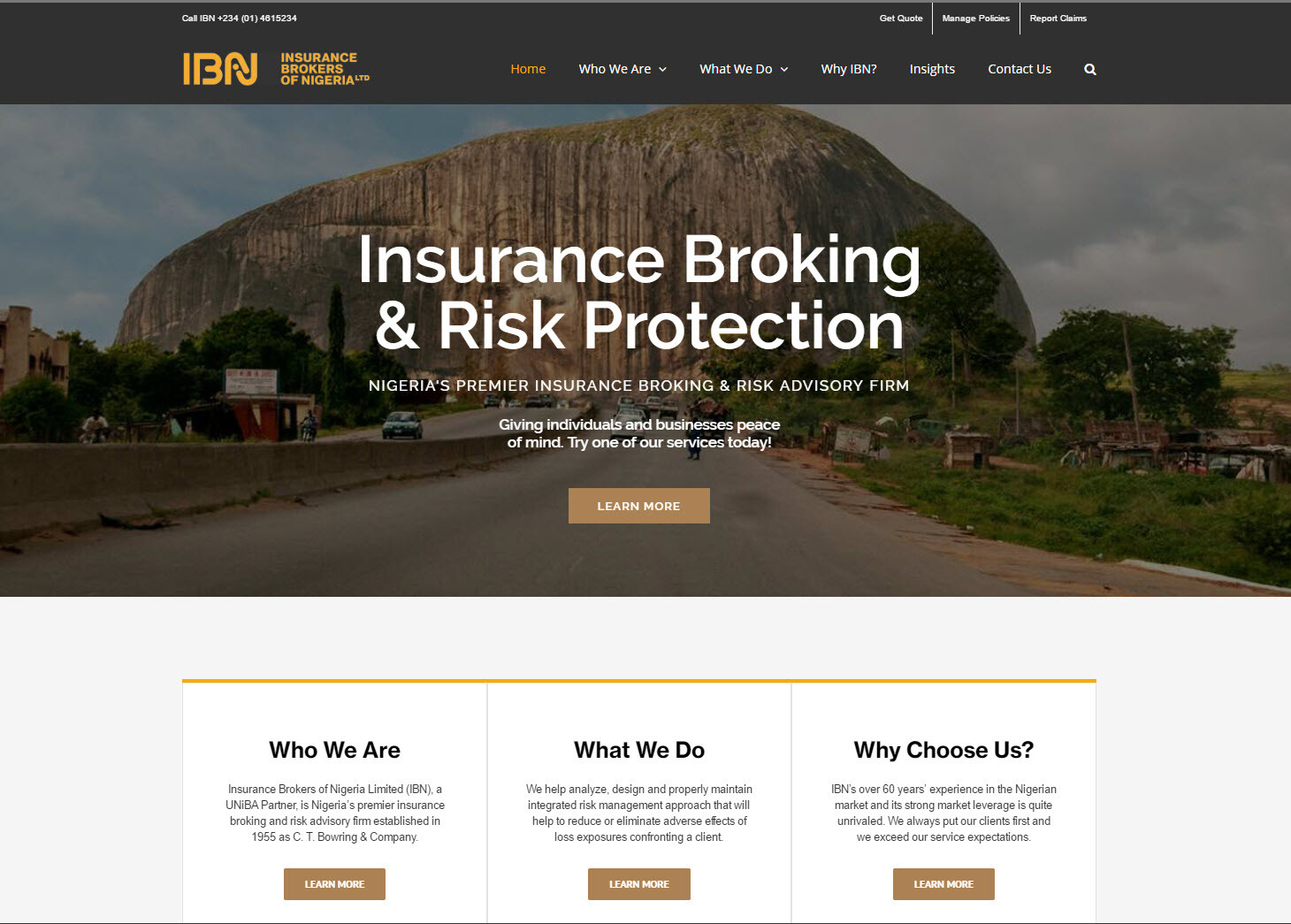 Insurance Brokers of Nigeria – IBN